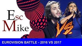 Eurovision BATTLE : 2016 VS 2017 (My personal opinion) thumbnail