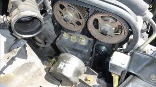 Chevrolet Aveo 2006 Timing belt replacement