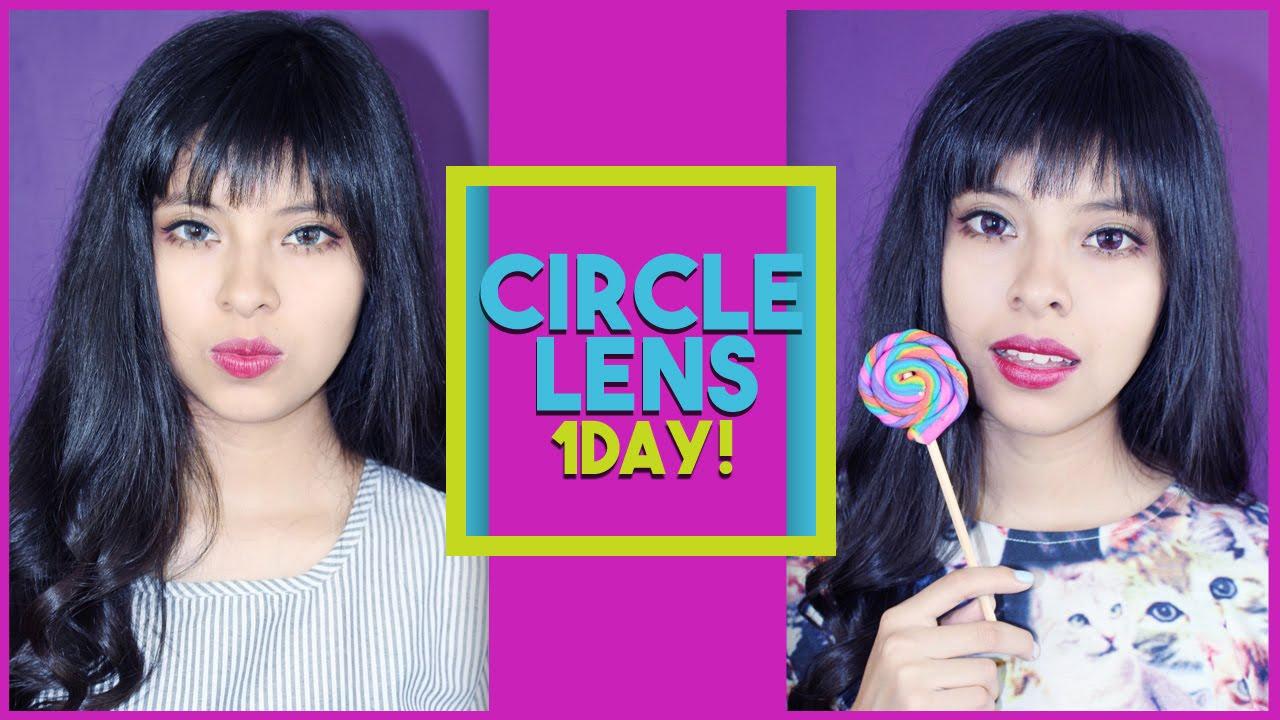 Circle Lens Por Un Dia Akari Beauty By Akari Beauty Official