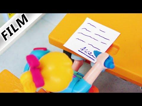 Playmobil Film deutsch   HANNAH FÄLSCHT UNTERSCHRIFT! Wird sie erwischt? Kinderserie Familie Vogel