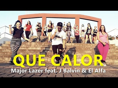 Que Calor - Major Lazer Feat. J Balvin & El Alfa | Zumba® L Choreography L CIa Art Dance