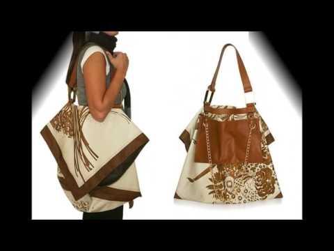 6002ce8901ca 30 вариантов, как обновить сумку или как украсить сумку, если старая -  YouTube