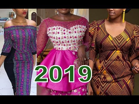African Dresses Designs Pictures 2019 : Collection of Ankara And Aso Ebi Styles for You