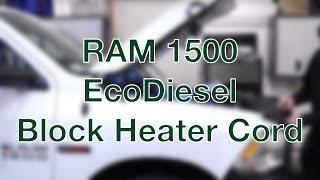 ram 1500 ecodiesel block heater cord