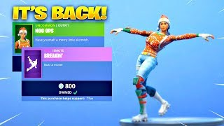 NOG OPS SKIN & BREAKIN EMOTE IS BACK! Fortnite ITEM SHOP [January 13, 2019] | Fortnite Battle Royale