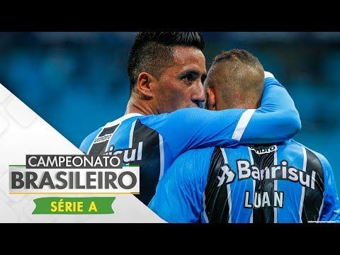 Melhores momentos - Grêmio 2 x 0 Vasco - Campeonato Brasileiro (04/06/2017)