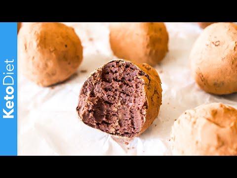 Keto Diet: 3 Ingredient Low-Carb Chocolate Truffles