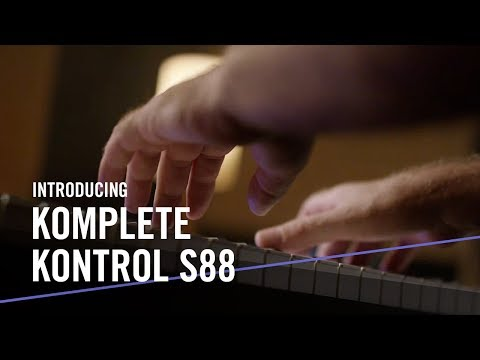 Introducing the New KOMPLETE KONTROL S88 – For the Music in You   Native Instruments