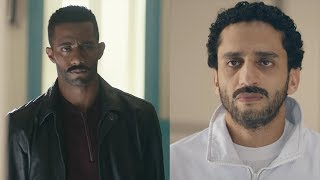 طه رفض يقابل زين في القسم - مسلسل نسر الصعيد - محمد رمضان