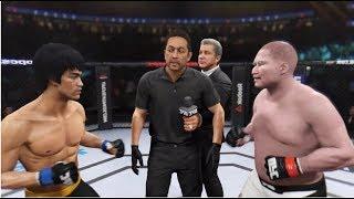 UFC 이소룡 vs 최배달 전설 대 전설과의 싸움!