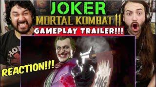 Mortal Kombat 11 - JOKER GAMEPLAY TRAILER - REACTION!!!