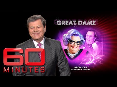 The Great Dame - Ray Martin interviews Barry Humphries | 60 Minutes Australia