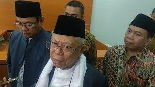 Ma'ruf Amin Sambut Baik Permintaan Maaf Sandiaga soal Video Langkahi Makam Pendiri NU