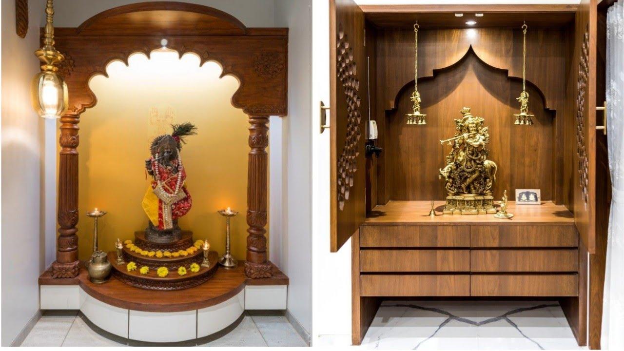70 Latest Pooja Room Mandir Design 2020 Mandir Design Ideas Youtube