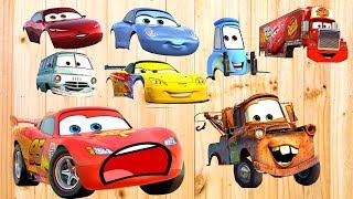 Wrong Wheels 💞Disney Cars 3 Lightning McQueen 💞Wrong wheels Puzzle (2018)