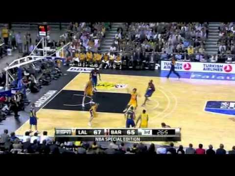 Lakers vs. Barcelona 2010-2011