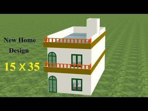 15 By 35 Home Design 15 35 House Plan 15 By 35 Ghar Ka