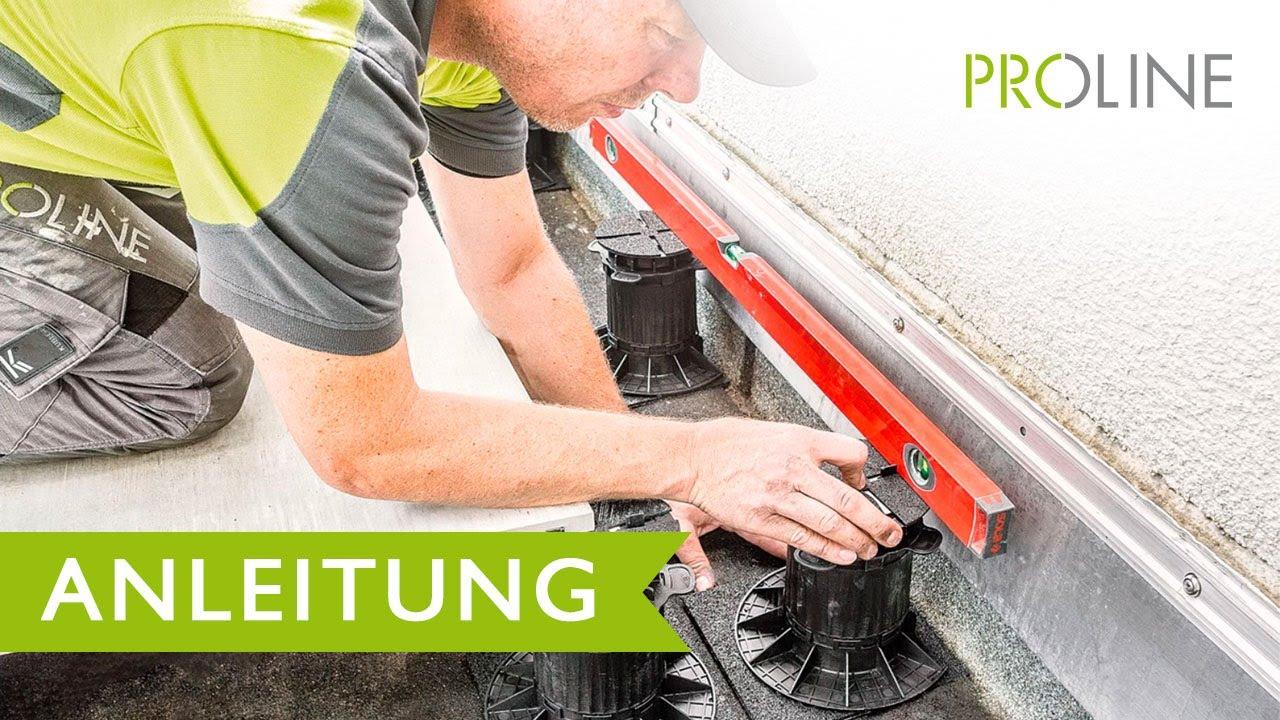 Very PROSTILT - Verlegeanleitung für Stelzlager auf Terrassen und TY62