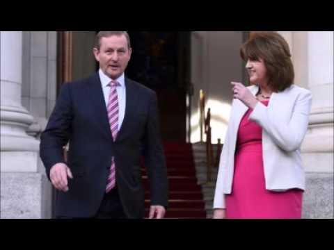 Irish PM calls election as economy takes center stage