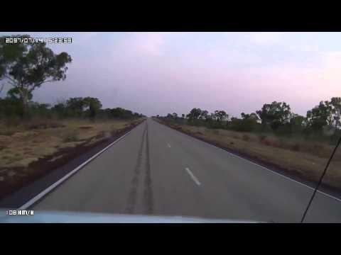 Video 262-Stuart Highway - Murranji Homestead T/O to Elliott