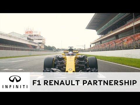The INFINITI and Renault Sport F1™ Partnership