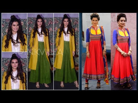 Bollywood Style Celebrity Kurti Designs 2019 | Indian Fashion 2019