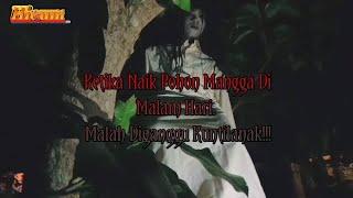 Short Movie Horror Comedy   Ketika Naik Pohon Mangga Di Malam Hari. Diganggu Kunti!! Part 2