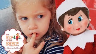 The Elf On The Shelf: An Elf's Story - Naming The Elf - family vlogs