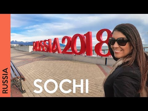 Travel to Sochi, Russia (2018 vlog) | SO NICE!