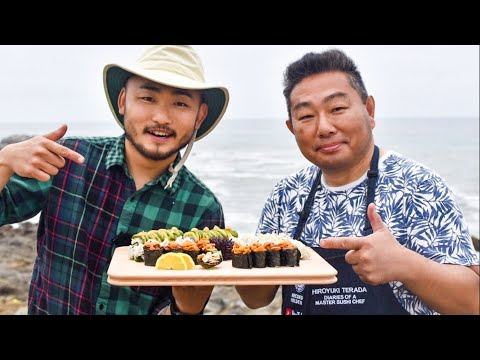 Two Sushi Chefs FORAGE for SUSHI Ingredients!! [Catch and Sushi Series Ep.11]