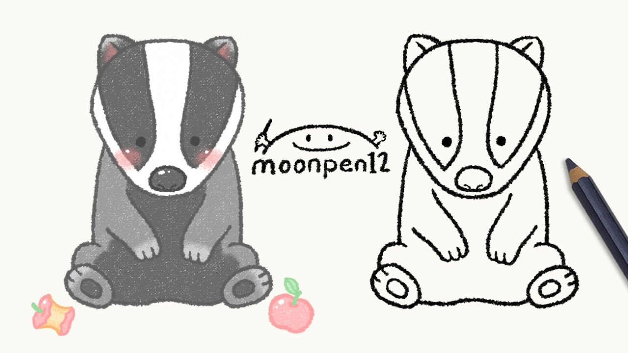 Uncategorized Badger Drawing badger drawing youtube drawing