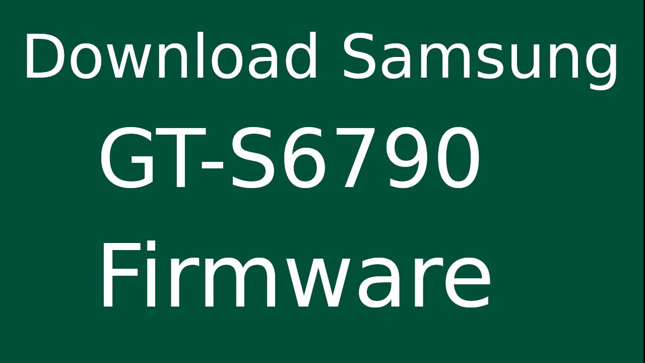 How To Download Samsung Galaxy Fame Lite GT-S6790 Stock Firmware (Flash File) For Update Device