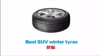TOP 8 Best SUV winter tyres R16