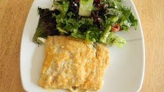 Легкий, быстрый и вкусный рецепт рыбы в духовке