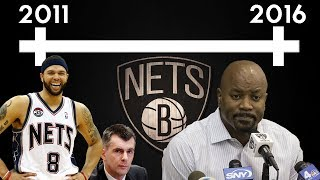 Timeline of the Nets' and Billy King's Failure