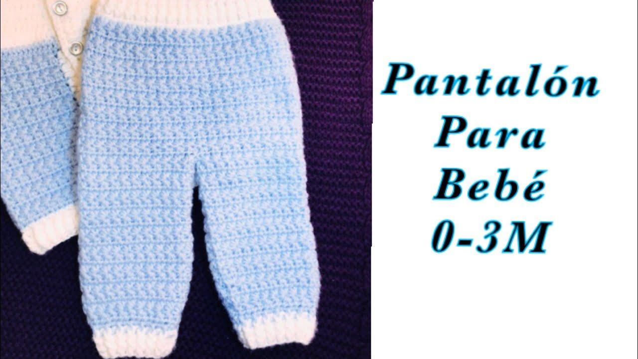 Ajuar Para Bebe Como Tejer Pantalon O Leggings Para Ninos Ninas De 0 3m Crochet For Baby 177 Youtube
