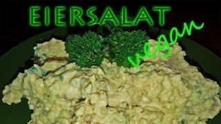 VEGANER EIERSALAT - SO WIRDS GEMACHT | Veganer Eiersalat selber machen [Rezept Eiersalat Vegan] 2014 Thumbnail