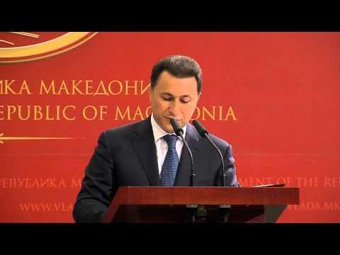 NIKOLA Gruevski Izjava 10.05.2015