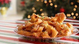 Christmas Italian Ribbon Cookies Recipe Idea