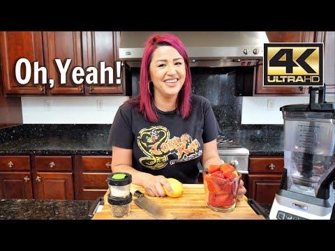 How to make Agua Fresca de Fresa (Strawberry Fresh water)