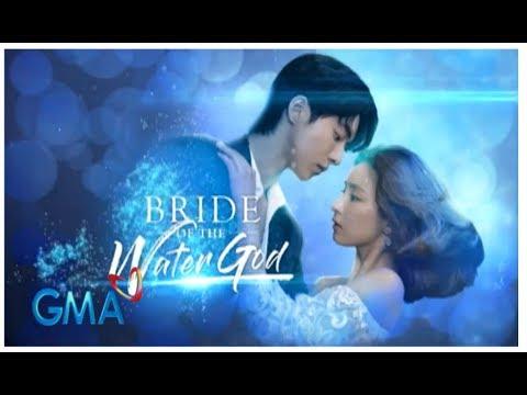 """Bride of The Water God❤️  GMA-7 Theme Song """"SUNTOK SA BUWAN"""" Migo Adecer (MV with lyrics)"""
