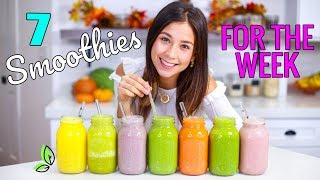 7 SMOOTHIES FOR THE WEEK + 3 DAY VEGAN CHALLENGE! RAWVANA