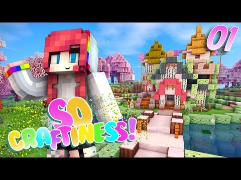 THE CUTEST SERVER EVER! // So Craftiness SMP // EP1