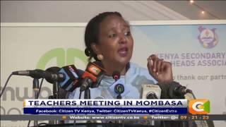 Education CS. Amina burns public events in schools #Citizen Extra