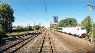 4K Cab Ride NL Leiden Centraal – Rotterdam Centraal – Dordrecht / IC 2435 / 25-05-2017