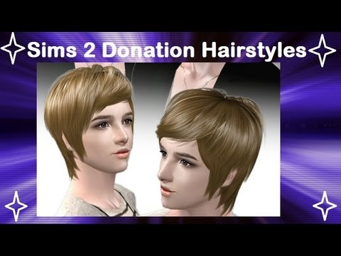 Hairstyle Youtube Download : ... : How to download donation item hairstyles on raonsims - YouTube