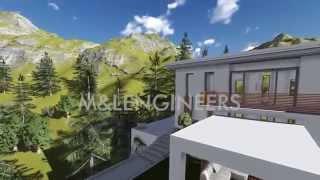 Modern Villa Design M&lengineers