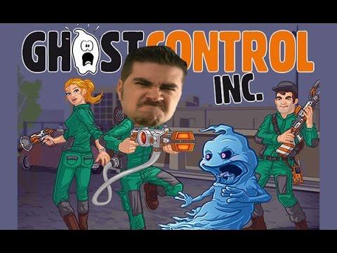 AngryJoe Plays Ghost Control Inc.!