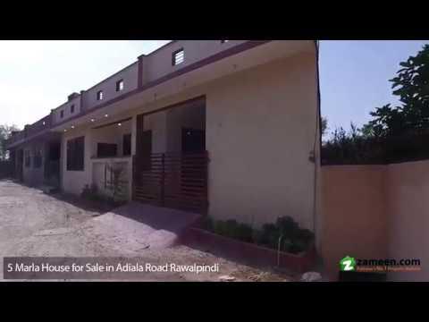 HOUSE FOR SALE AT ADIALA ROAD, RAWALPINDI