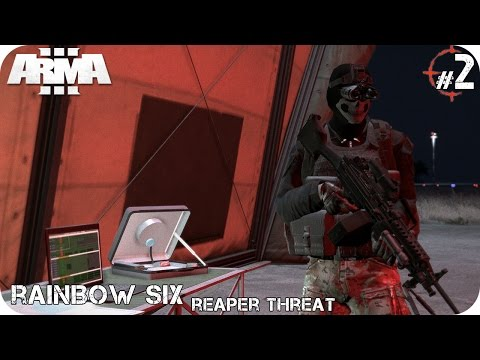 MISIÓN COOP | RAINBOW SIX Reaper Threat PART 2/2 Phantom | ArmA 3 Gameplay Español (1080p HD)